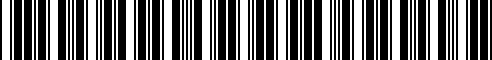 Barcode for 51952183855