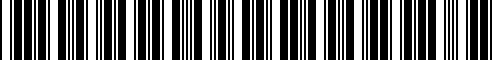Barcode for 51952409283