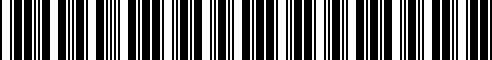 Barcode for 65412411420