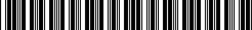 Barcode for 65902410426