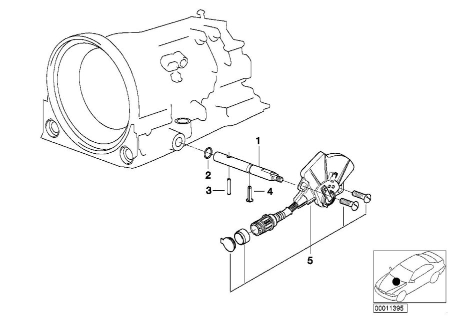 24301423331 - Position Switch  Transmission