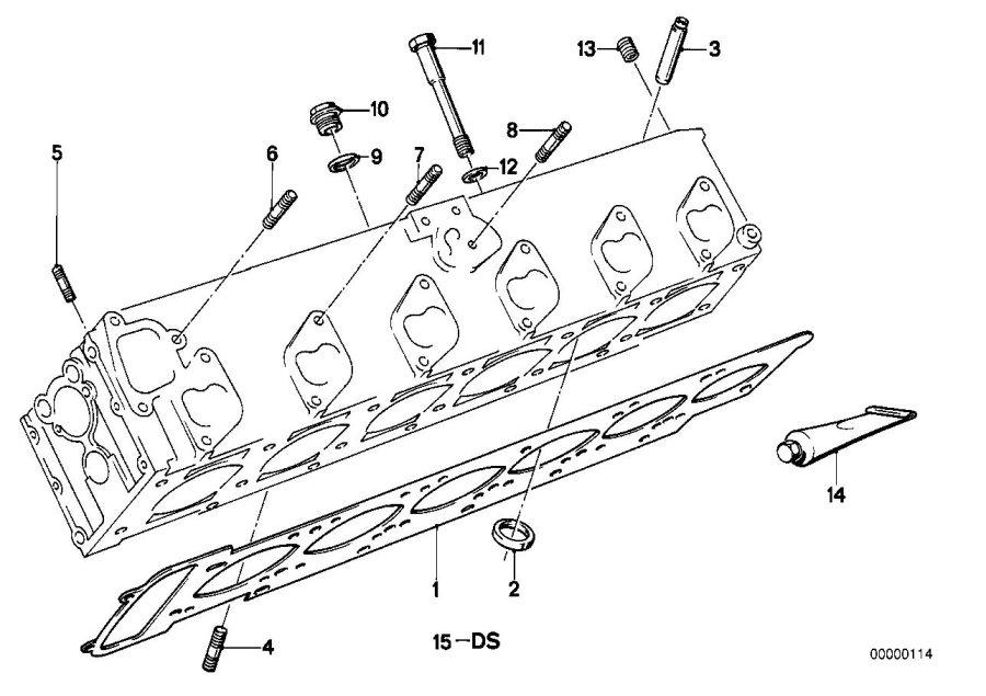 11117558632 - screw plug with gasket ring  m22x1  5  engine  bavaria  cylinder