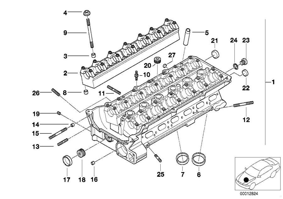 2002 bmw 325ci screw plug  lubricat