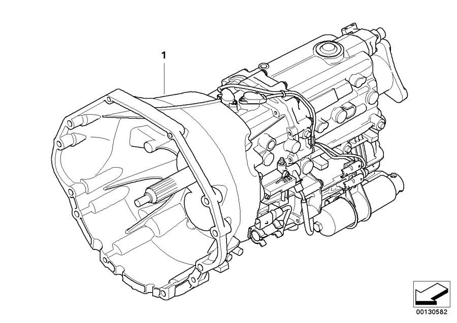 Bmw 645ci Exch  6 Speed Sequential Gearbox  Gs6s53bz