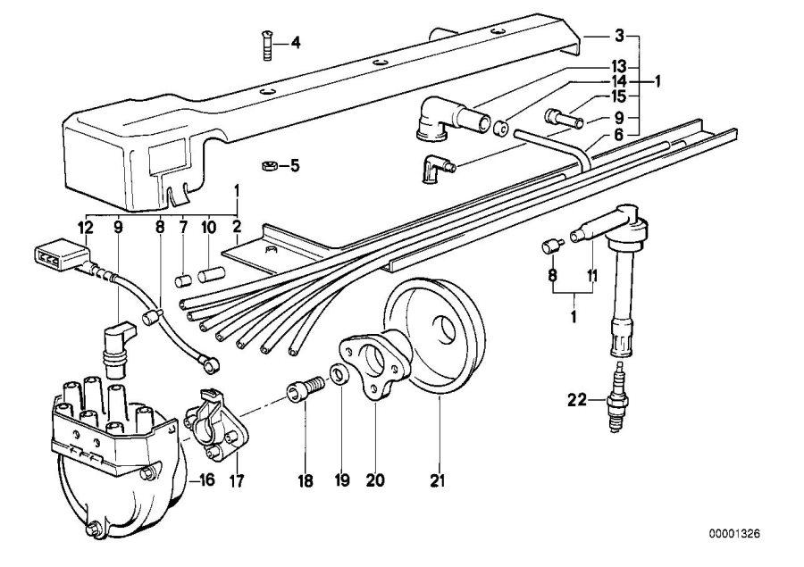 12129061867 - spark plug  bosch y 6 dc