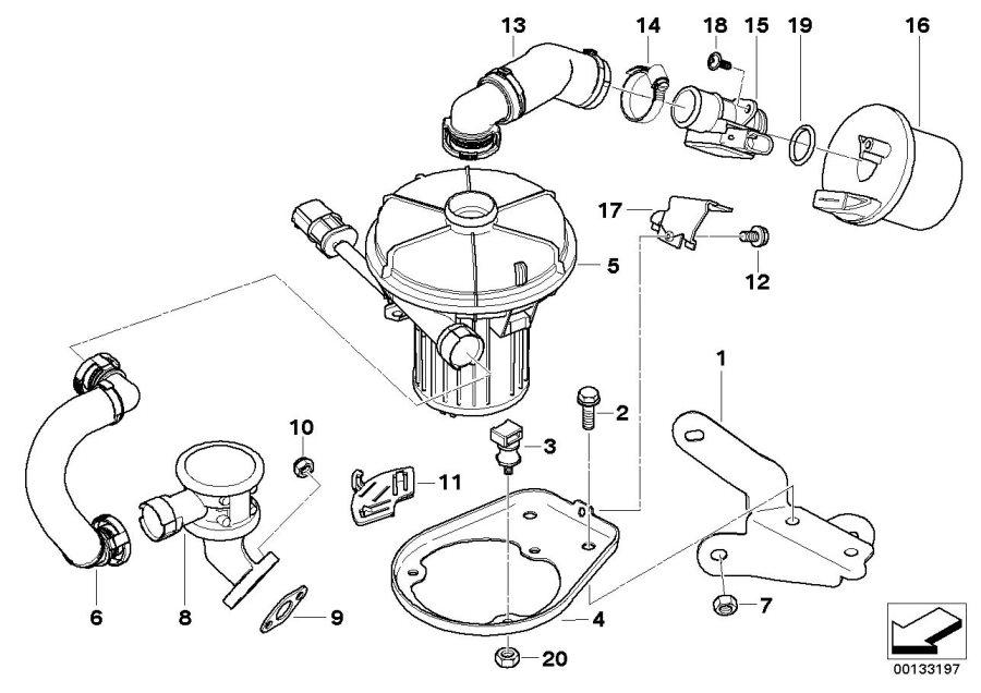 11721438814 - Mass Air Flow Sensor