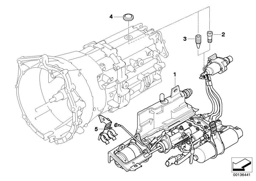 Bmw 645ci Hydraulic Unit  Transmission  Smg  Individual - 23427507164