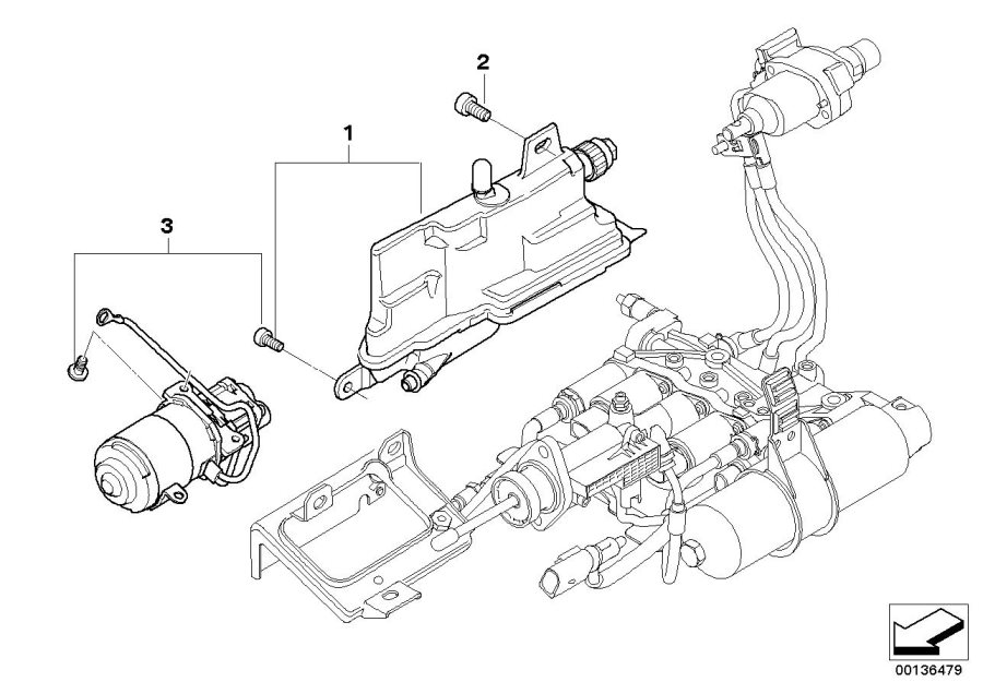 Bmw 645ci Repair Kit  Hydraulic Pump  Expansion  Transmission  Tank - 23427571297