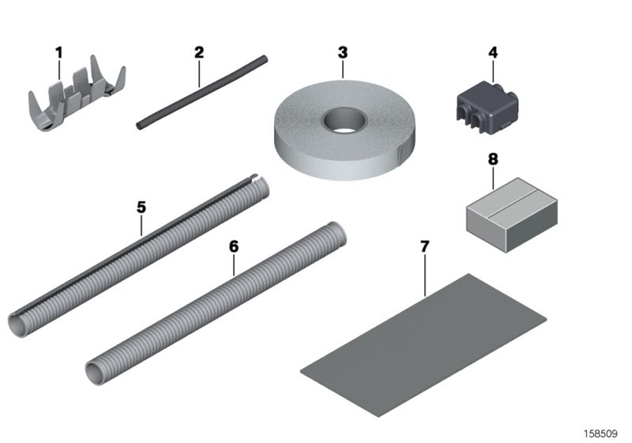 61136902588 - Fabric-tape  B 19mm