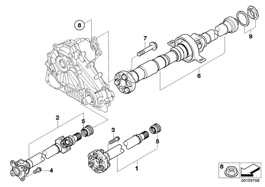 2010 Bmw X5 Set Of Screws  M10x1  5x54-zns3