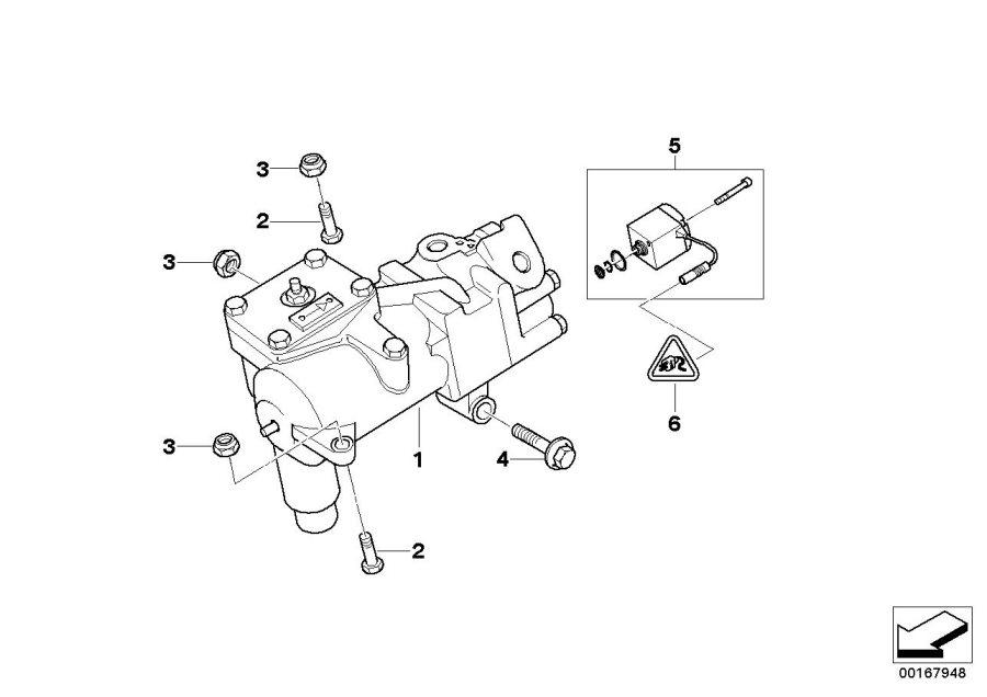 Bmw 540ip Torque Converter Servotronic  Steering