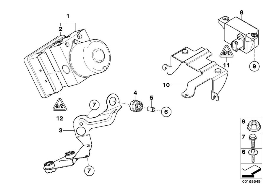 34526764018  Speed sensor  Genuine    BMW    Part
