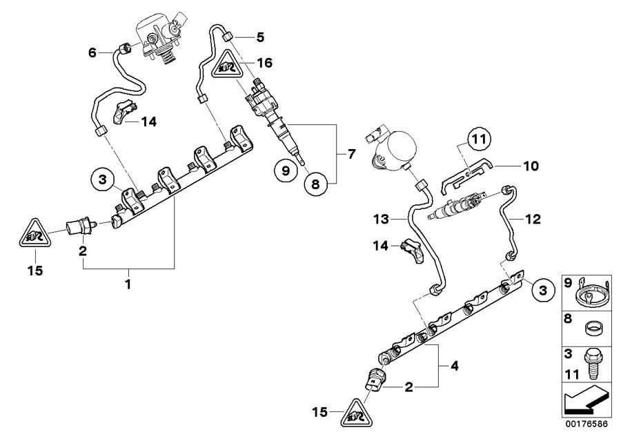 13538616079 - Rp Injector  Alpina  Fuel  Coup U00e9