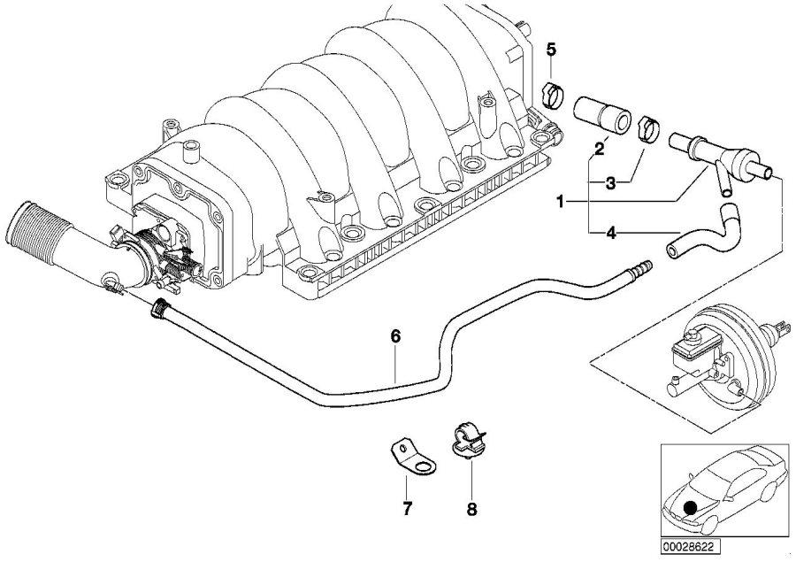 Bmw 740i Sucking Jet Pump  Vacuum  Engine  Control