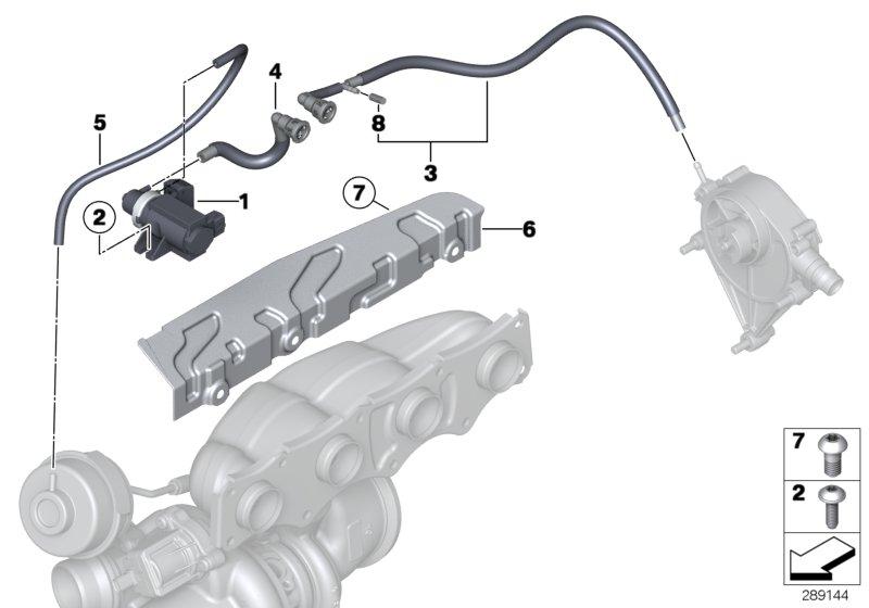 2013 Bmw 320ix Pressure Converter  Alpina  Engine  Control