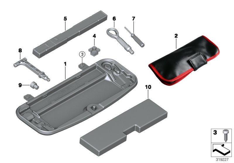 Bmw M5 Handle F Emergency Unlocking  Alpina  Release  Tool