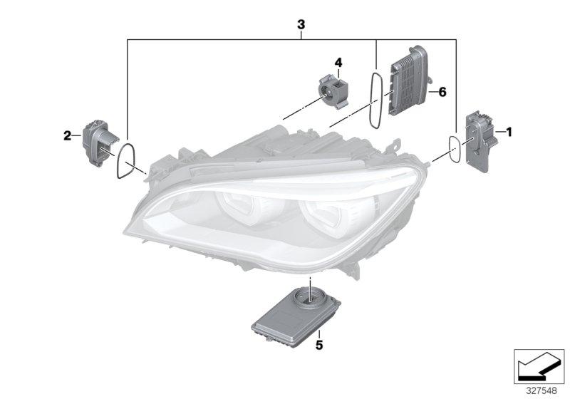 63117440878  Headlight control module  LED System