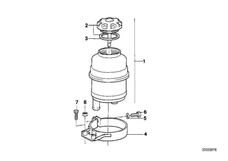 1998 Bmw M3 Gasket Ring  Intake  Manifold  System - 32411128333