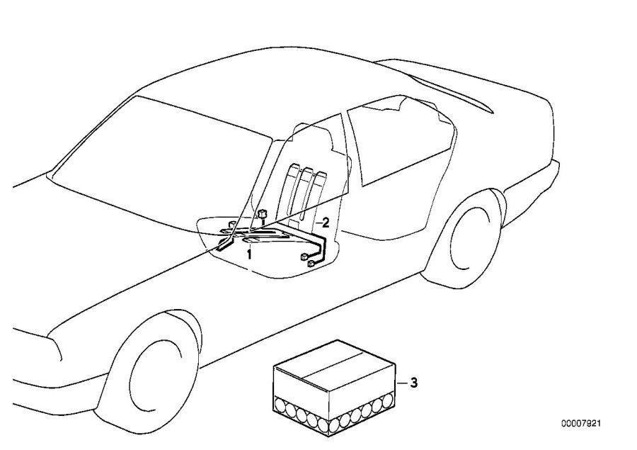 Bmw 325i Heating Element  Seat - 64118353027