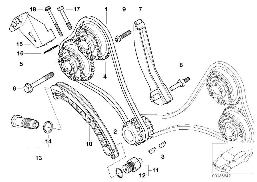Bmw 650i Vacuum Pump  Engine  Timing