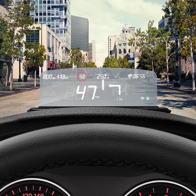 BMW X3 Bmw Head-up Screen. Integrated, Navigation, Shows