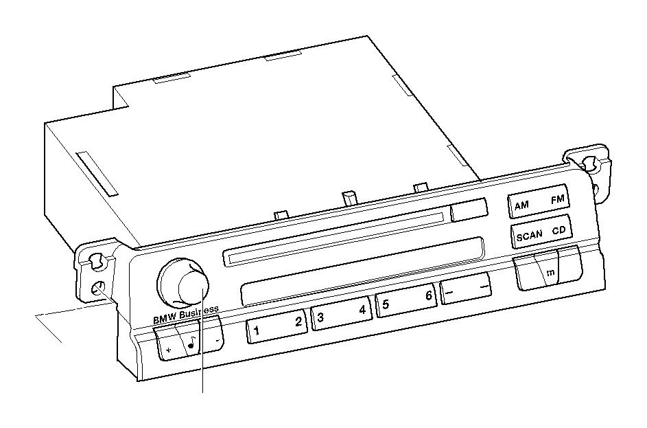 bmw 323i exch  radio bmw business cd  system  multi