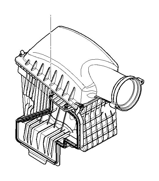 bmw alpina b7 intake silencer - 13717966328
