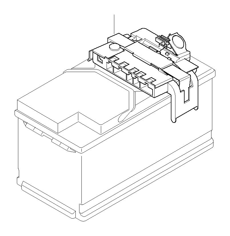 Bmw 328i Power Distribution Box W Fuse  System  Battery