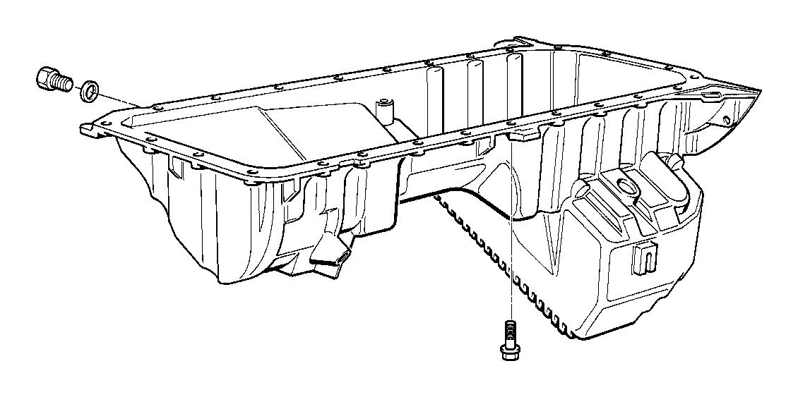 Bmw E36 M3 Oil Pan