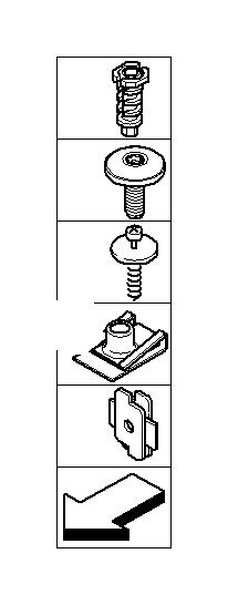 63126918594 - Bracket Headlight  Xenon  System  Single  Electrical
