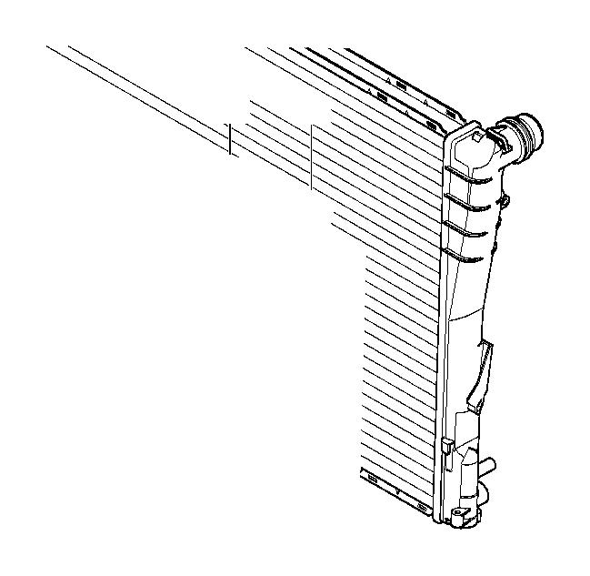 bmw 750li bracket f radiator  mounting  compartment  engine - 17117514402