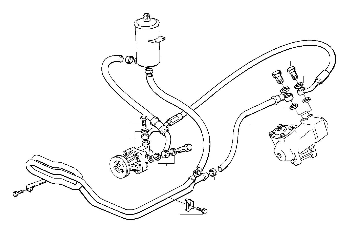 32412226390 - pressure hose assy