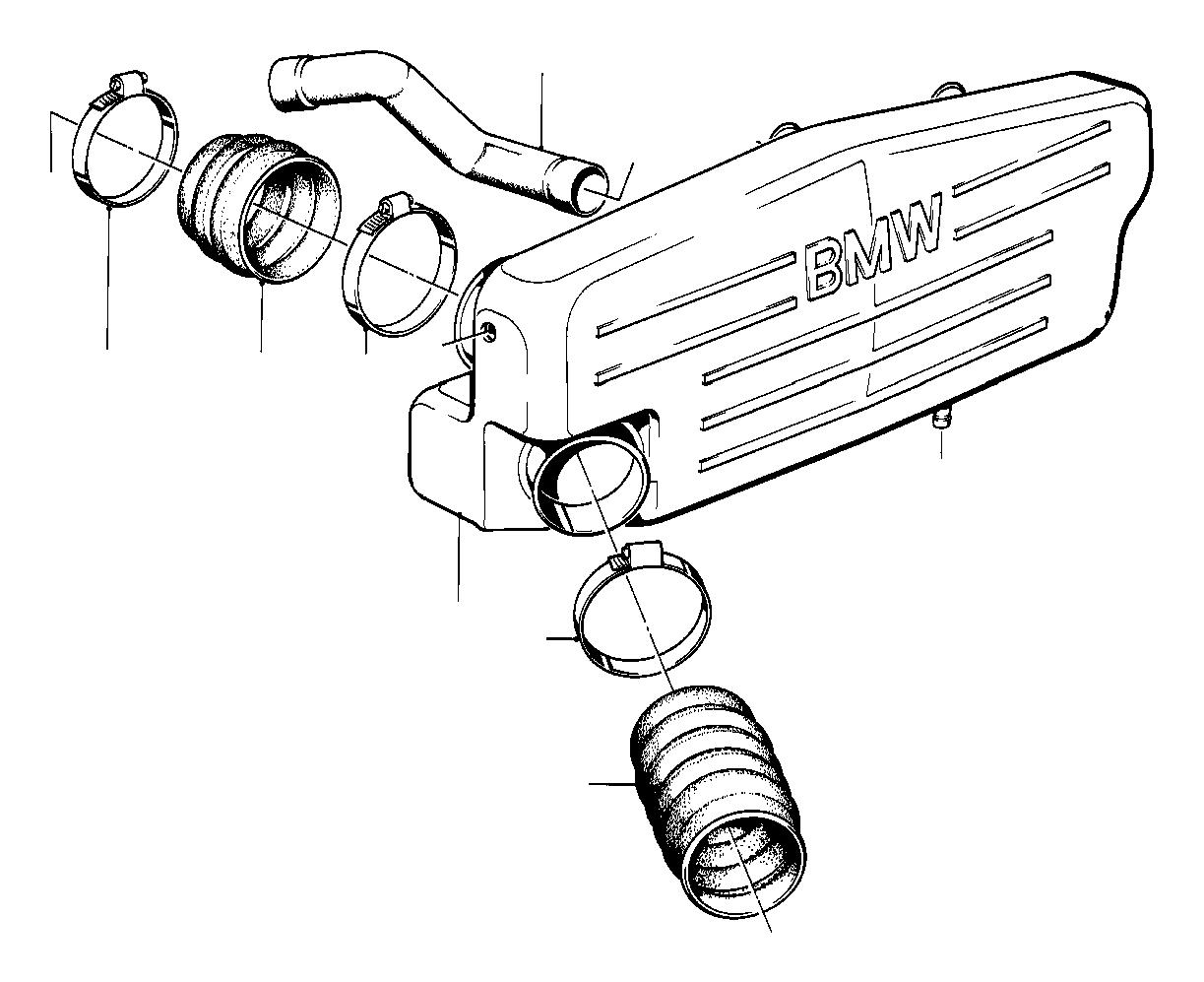 2003 bmw m5 hose clamp  l83