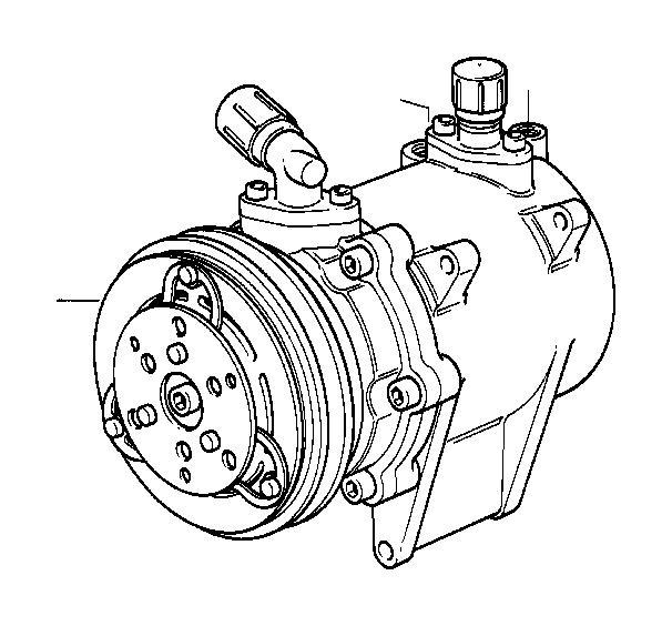 bmw 635csi exchange air conditioning compressor  r134a