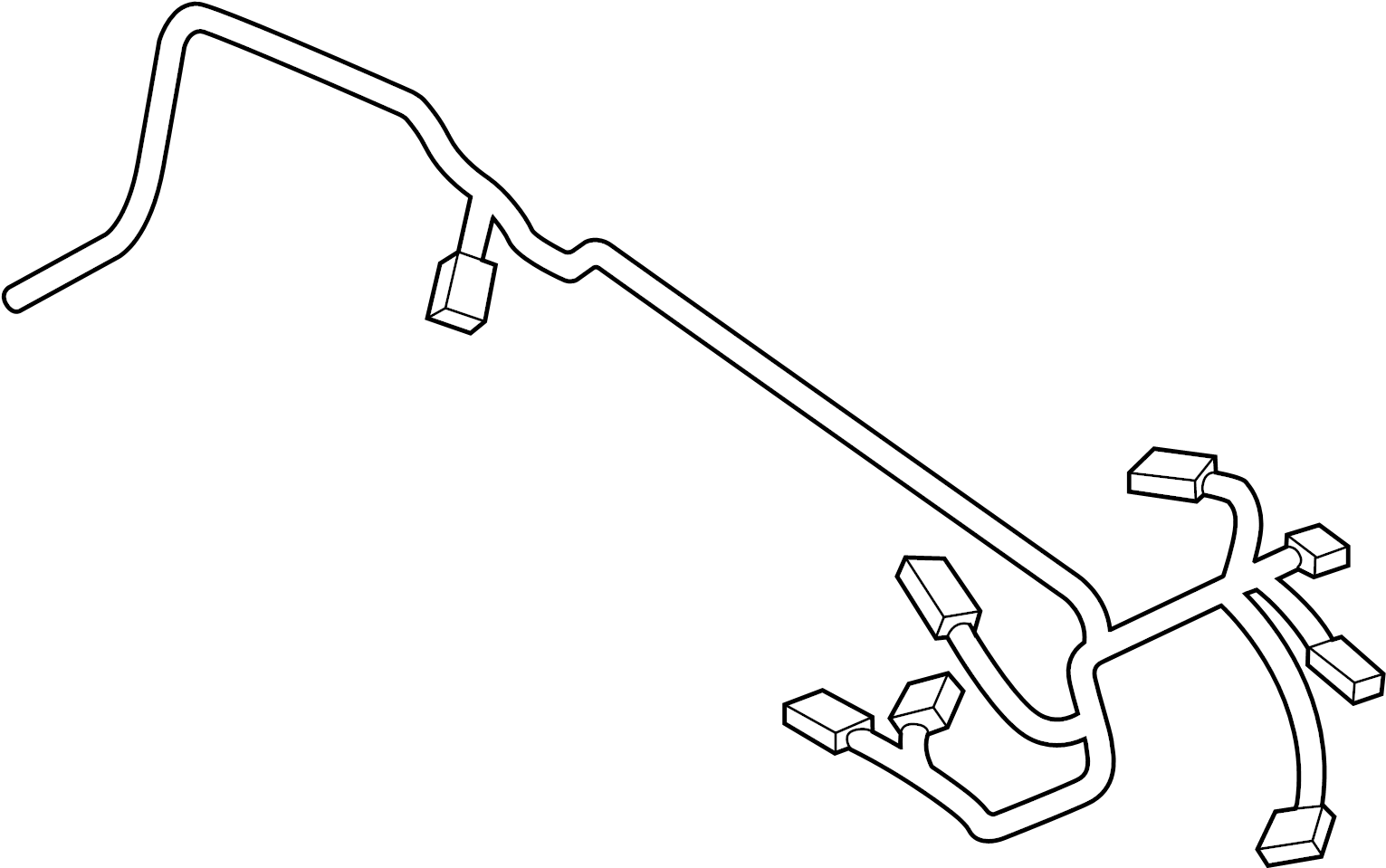 12518631662 - Wrng Harness  Motor  Sensorsystem  Module 1  Wiring  Engine  Electrical