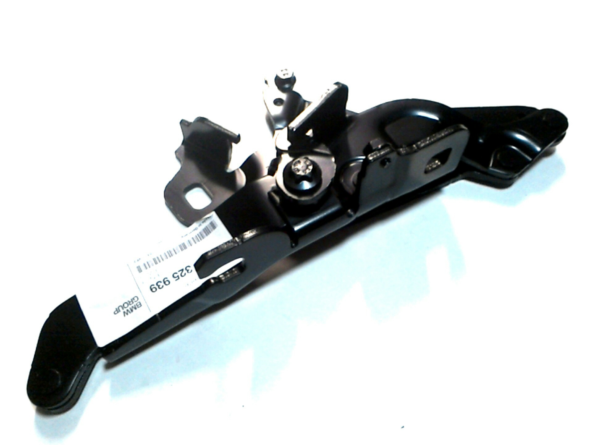 2010 bmw m3 left engine hood hinge trim mounting body